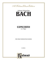 Bach: Concerto for Two Pianos in C Major - Piano Duets & Four Hands