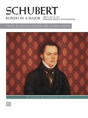 Schubert: Rondo in A Major, Opus 107, D. 951 - Piano Duet (1 Piano, 4 Hands) - Piano Duets & Four Hands