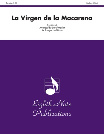 LA VIRGEN DE LA MACARENA/TR AND PNO - Piano & Trumpet