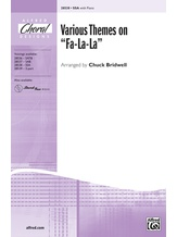 "Various Themes on ""Fa-La-La"" - Choral"