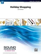Holiday Shopping - Concert Band