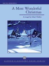 A Most Wonderful Christmas - Concert Band