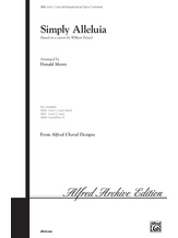 Simply Alleluia - Choral