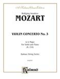 Mozart: Violin Concerto No. 3 in G Major, K.216 - String Instruments