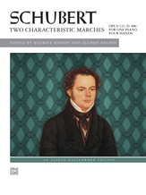 Schubert: Two Characteristic Marches, Opus 121, D. 886 - Piano Duet (1 Piano, 4 Hands) - Piano Duets & Four Hands