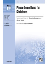 Please Come Home for Christmas - Choral