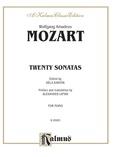 Mozart: Twenty Sonatas (Ed. Béla Bartók) - Piano