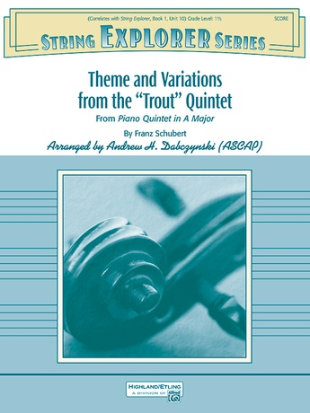 "Theme and Variations from the ""Trout"" Quintet - String Orchestra"