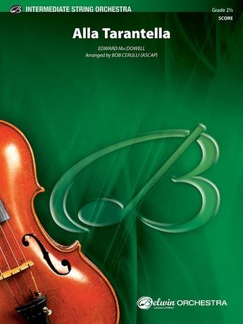 Alla Tarantella Cello Edward Macdowell String Orchestra