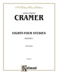 Cramer: Eighty-Four Studies (Volume I) - Piano