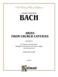 Bach: Soprano and Alto Arias, Volume III (German) - Voice