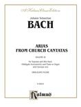 Bach: Soprano and Alto Arias, Volume III (German) - Voice