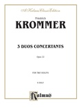 Krommer: Three Duos Concertants, Op. 22 - String Ensemble
