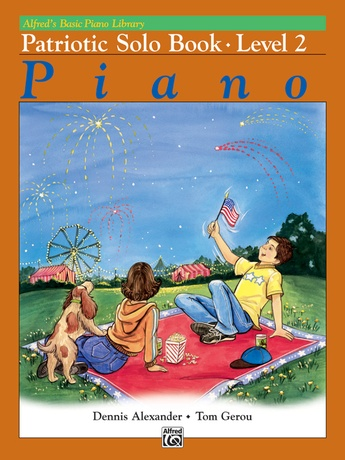 Alfred's Basic Piano Library: Patriotic Solo Book 2 - Piano