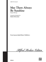 May There Always Be Sunshine - Choral