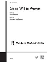 Good Will to Women - Choral