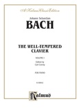 Bach: The Well-Tempered Clavier (Volume I) (Ed. Carl Czerny) - Piano