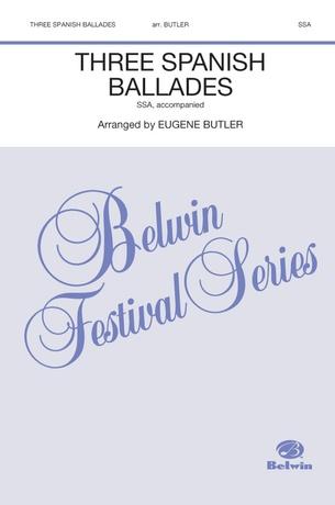 Three Spanish Ballades - Choral