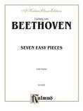 Beethoven: Seven Easy Pieces - Piano