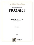 Mozart: Various Piano Pieces - Piano