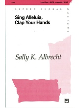 Sing Alleluia, Clap Your Hands - Choral