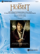 The Hobbit: An Unexpected Journey, Suite from - Concert Band