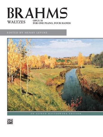 Brahms: Waltzes, Opus 39 - Piano Duet (1 Piano, 4 Hands) - Piano Duets & Four Hands
