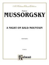 Mussorgsky: A Night on Bald Mountain - Piano