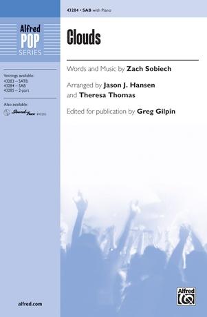 Clouds (SAB) - Choral