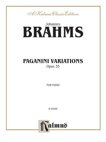Brahms: Paganini Variations (Complete) - Piano
