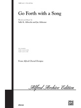 Go Forth with a Song - Choral