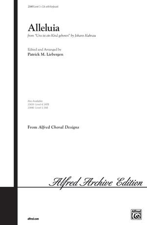 Alleluia (from <i>Uns ist ein Kind geboren</i>) - Choral