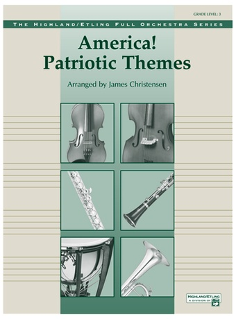 America! Patriotic Themes (as played at Disney World) - Full Orchestra