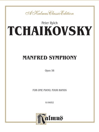 Tchaikovsky: Manfred Symphony, Op. 58 - Piano Duets & Four Hands