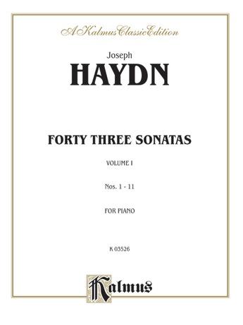 Haydn: Sonatas (Volume I) - Piano