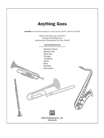 Anything Goes (from the musical Anything Goes) - Choral Pax