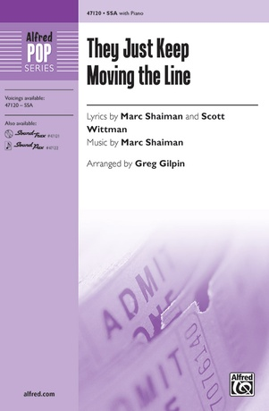 They Just Keep Moving the Line - Choral